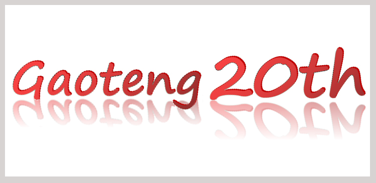 Gaoteng's 20th birthday is coming