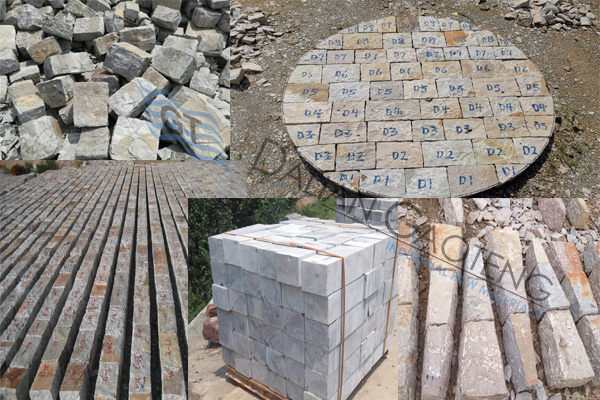 Gaoteng silex lining stones in hot sale